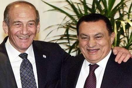 mubarak Olmert